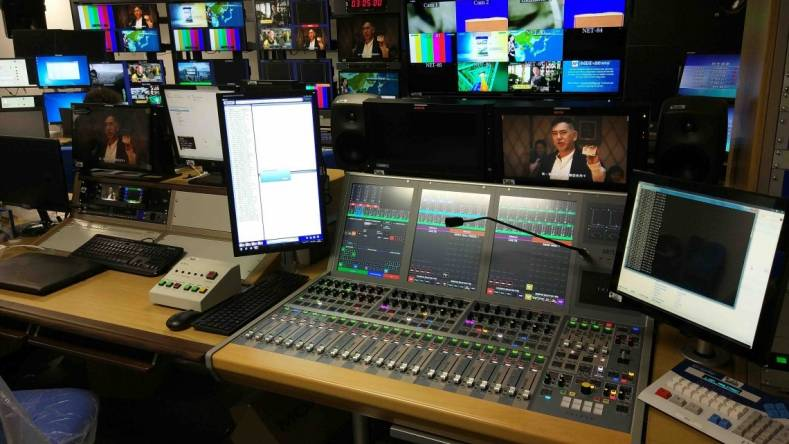 TVB is using the Brio12 console as a portable solution for supporting live sports events.