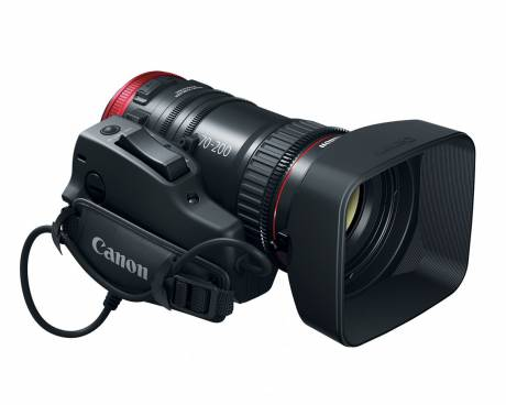 The CN-E 70-200mm lens is Ideal for ENG, documentary, and budding filmmakers.