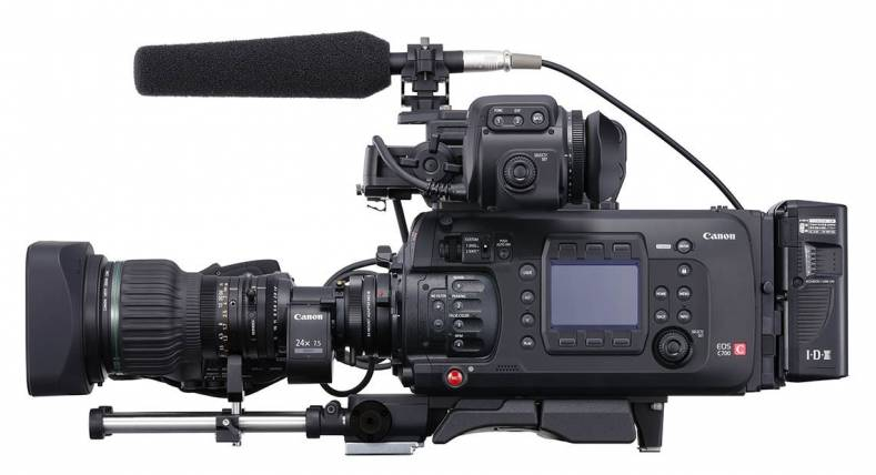 The C700 cameras offer new features for 4K shooters.