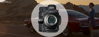 Canon EOS C300 Mark II.