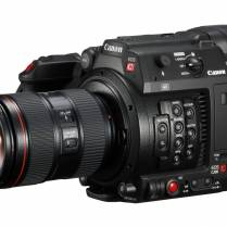 The C200 is latest addition to Canon's Cinema EOS line-up and sports a new RAW Light codec.