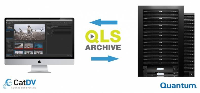 Square Box Systems Announces Quantum S Lattus Object Storage Now Integrated Into Qls Archive Plug In
