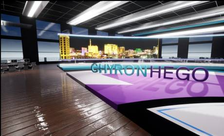 ChyronHego showed off their virtual graphics prowess for broadcasst as well as stadium displays at their NAB 2019 exhibit