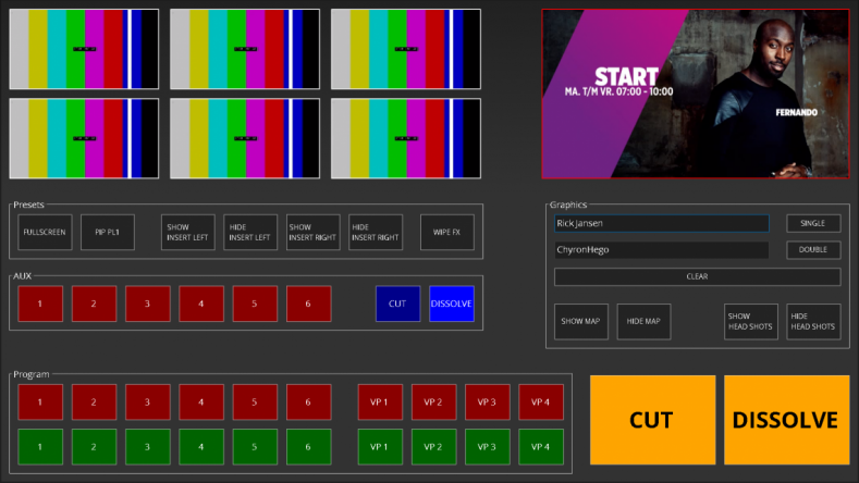 ChyronHego Vidigo is a scalable, newsroom production solution combined into a single workspace.