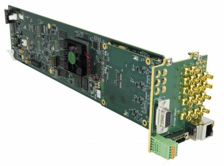 The Cobalt Digital 9971 Series of UHD multiviewers support 12G/6G/3G/HD/SD-SDI and UHD formats.