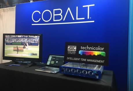 Cobalt is one of the first vendors in the broadcast industry to license Technicolor HDR technology.