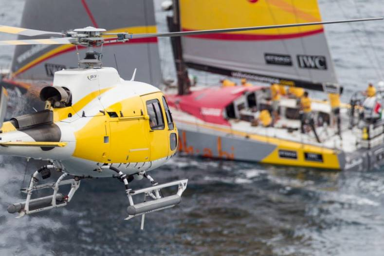 The Volvo Ocean Race 2014-2015 tests physics and electronics.