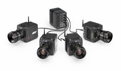 The workflow can record ARRIRAW from four Alexa Minis simultaneously.