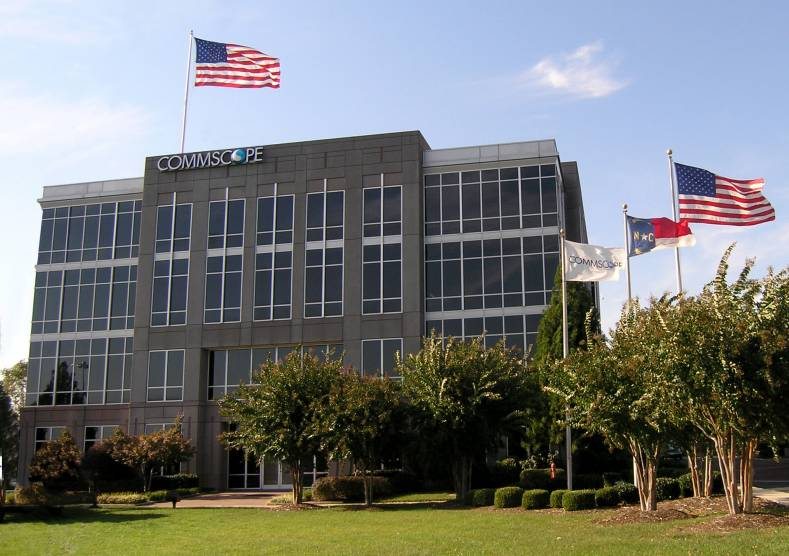 CommScope is headquartered in Hickory, North Carolina.