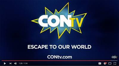 CONTV channel, a network aimed at the fan base that frequents Comic Con conventions.