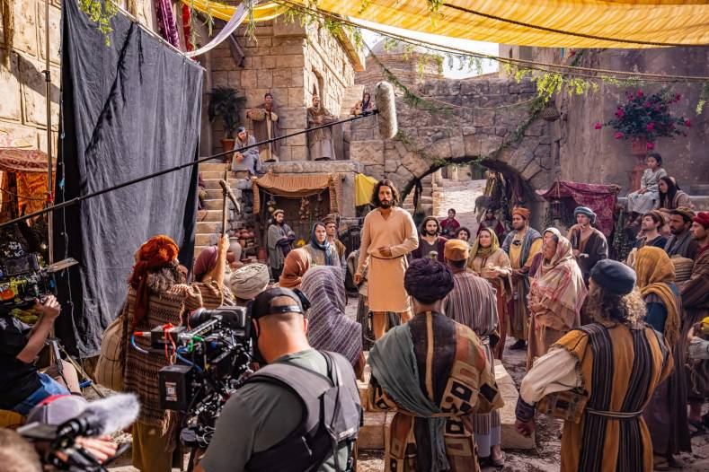 Naturalistic cinematography offers a new dimension to the depiction of well-known Bible stories.
