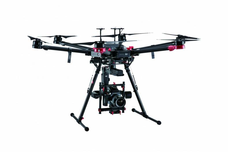 DJI M600 Pro Drone, Ronin-MX Gimbal And Hasselblad H6D-100c Camera.