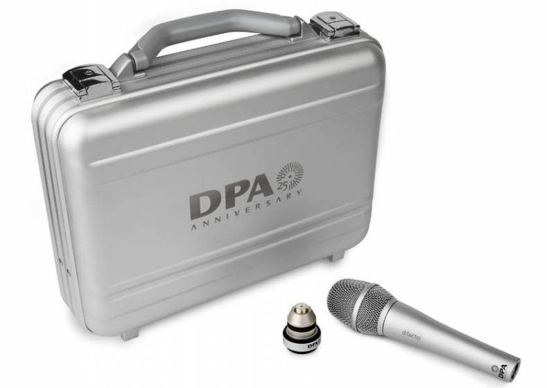 DPA d:facto 25th anniversary suitcase.