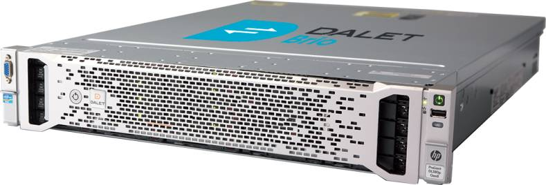 Dalet Brio runs on standard IT hardware and supports a wide range of software codecs.