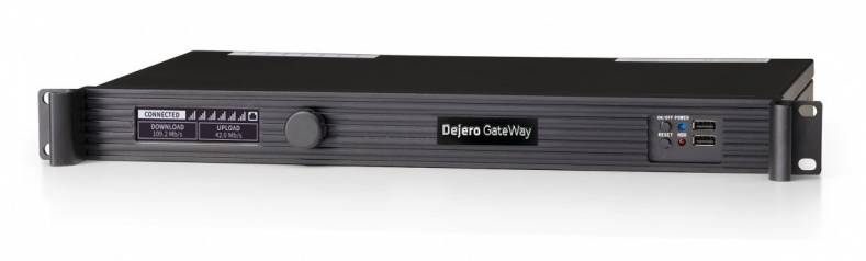 Dejero's router has six embedded modems for higher data transmission speeds.