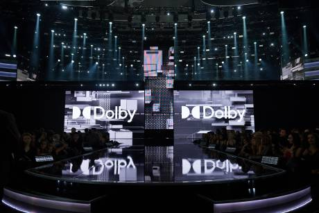 Dolby worked with dick clark productions to install a Dolby Atmos playback experience in the Microsoft Theater in Los Angeles.