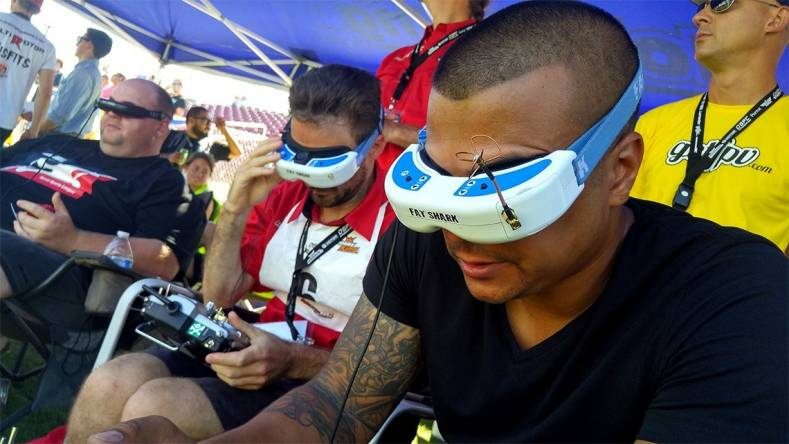 Drone Racing Producer Goes HD with Amimon - The Broadcast
