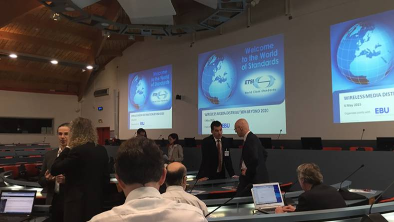 The EBU held a joint event with ETSI to discuss future of terrestrial broadcasting after 2020.