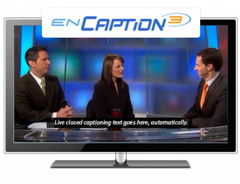 ENCO's enCaption3 is a fully automated, speaker independent speech recognition-based system.