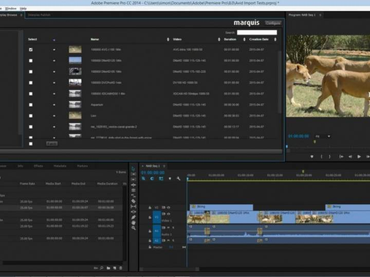 EDIT BRIDGE makes Avid storage available to other NLE