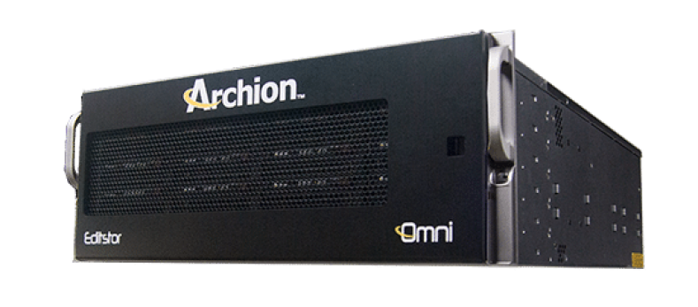 Based in Los Angeles, Archion Technologies supplies shared storage systems for the editorial, finishing, visual effects and other media work