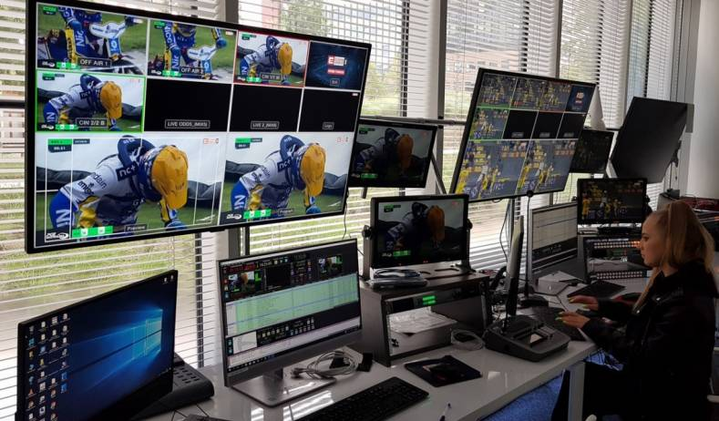 Eleven Sports Network production gallery in action.