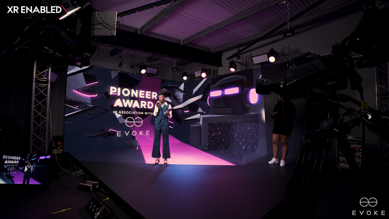 EVOKE and its creative partners shot a number of guest performances for the awards show, recording as live with no post production.