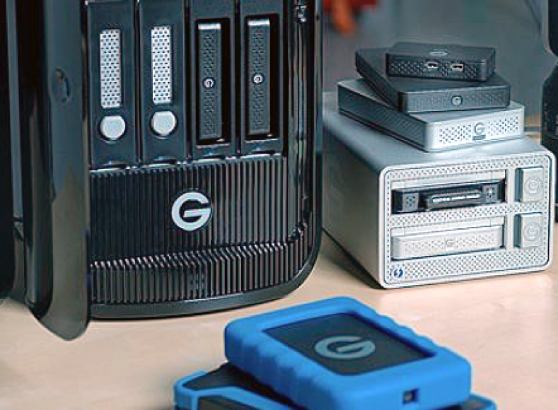 G-Technology Evolution line of storage products