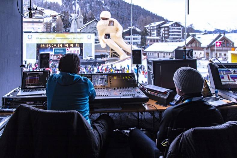 Riedel had pivotal role in the communication system for Alpine World Ski Championships.