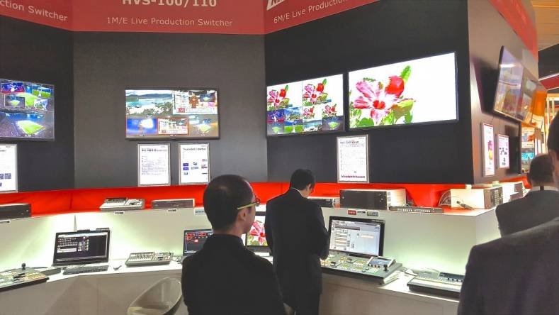FOR-A Booth at IBC 2015.