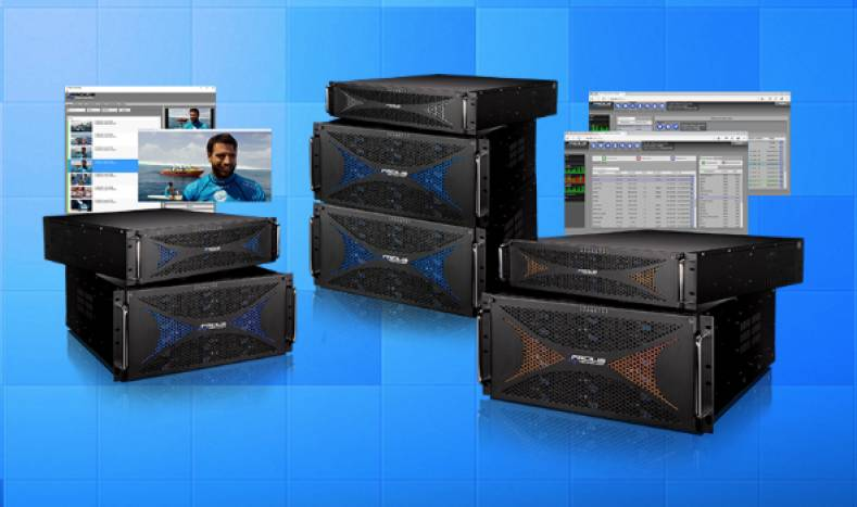 Facilis Hub Server increases the bandwidth available from standard TerraBlock storage systems.