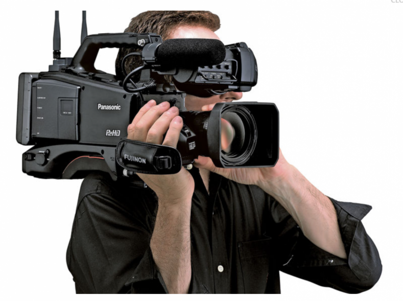 The Panasonic AJ-PX380 is a full-size well-balanced camcorder with a smallish 1/3-type sensor offering easy focusing and ample DOF.