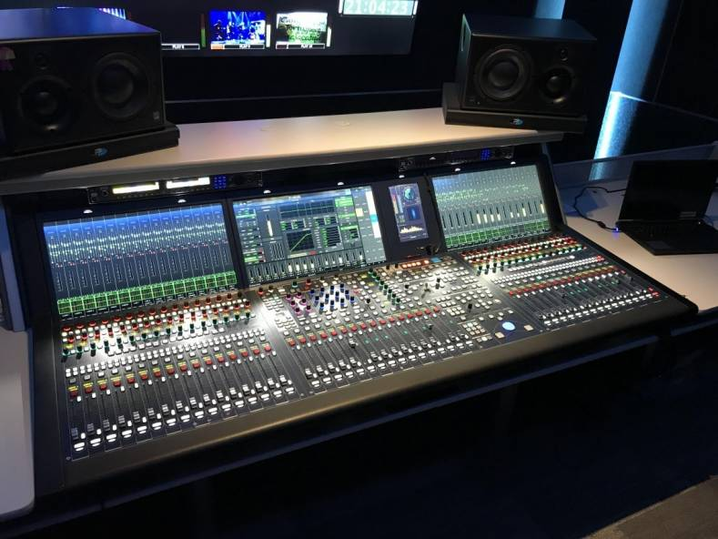 Televisa's Foro 16 now includes a Lawo mc²56, 48-fader console, used for the production of live telecasts like the 2019 Grammy Awards.