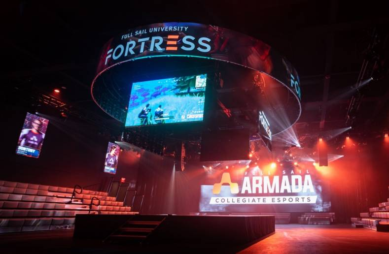 The arena will be used to host Full Sail college E-sports team events as well as third party events.