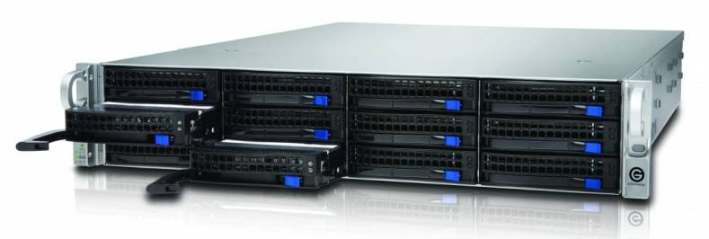 G-RACK 12 incorporates a G-Technology-developed NAS operating system