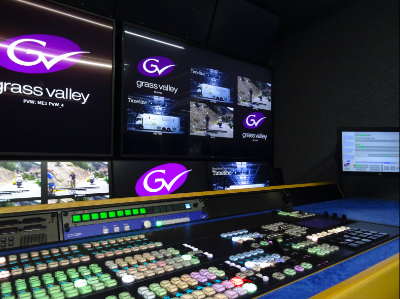 Timeline Television has once again turned to Grass Valley for the newest addition to its outside broadcast (OB) fleet, UHD3.