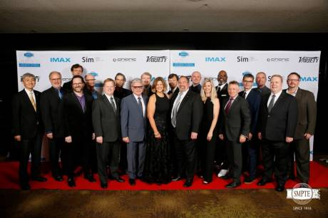 SMPTE 2018 Awards ceremony participants.