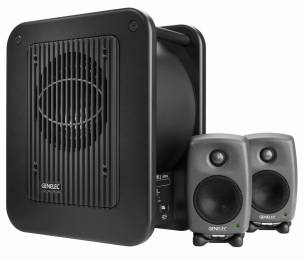 New ultra-compact Genelec 7040A subwoofer.