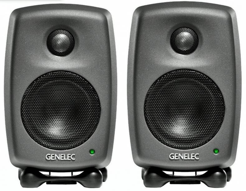 Genelec 8010 Bi-Amplified professional monitor system