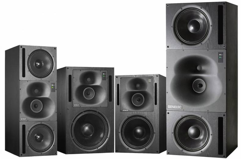 Genelec professional monitors.