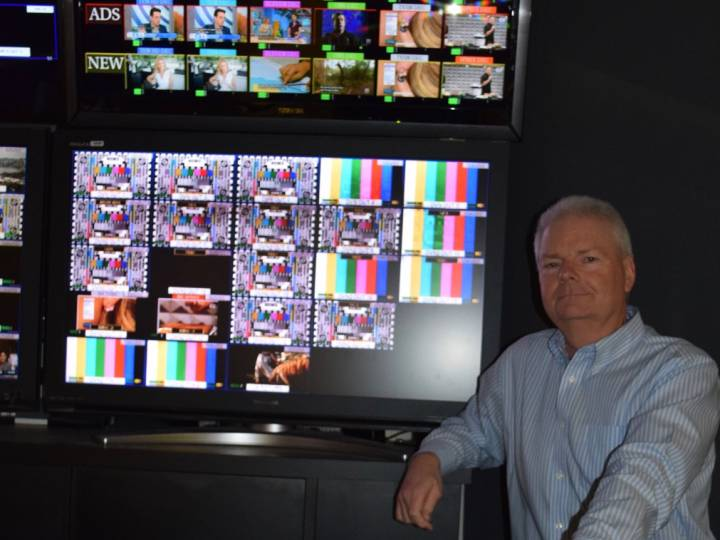 Glenn Carrick at Network TEN is pleased with his high-density Appear TV XC5000 system.