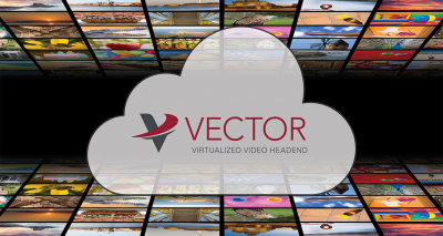 Globecomm's Vector virtualized video headend can be deployed in the vendor's cloud or the customer's site.