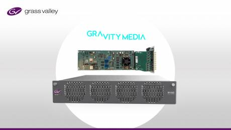 Gravity Media has migrated to an IP-based workflow with Grass Valley gateway cards.