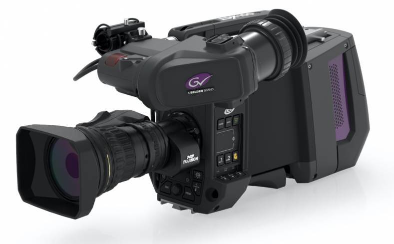The Grass Valley LDX 100 can be configured in a number of ways, including as a high-speed, native UHD camera for sports replays.
