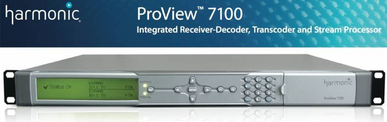 Harmonic Proview 7100 прошивка