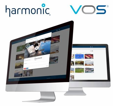 Harmonic VOS 360 Cloud Streaming.