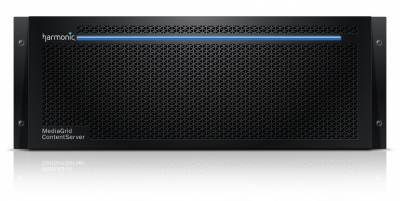 MediaGrid 4K ContentServer from Harmonic
