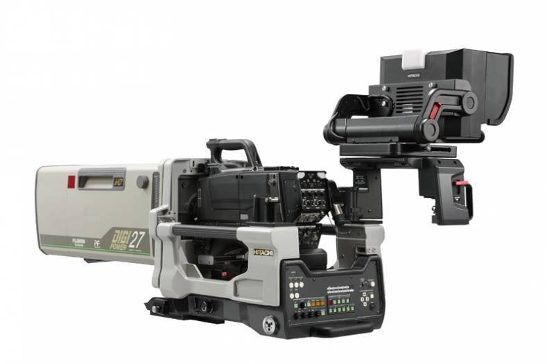 The Z-HD6000 features three 2/3-inch format MOS sensors to deliver high-quality color images and control of all parameters.