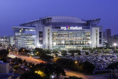 Many of the preparations for mobile coverage of Super Bowl 2017 were centered around the Houston NRG stadium itself.