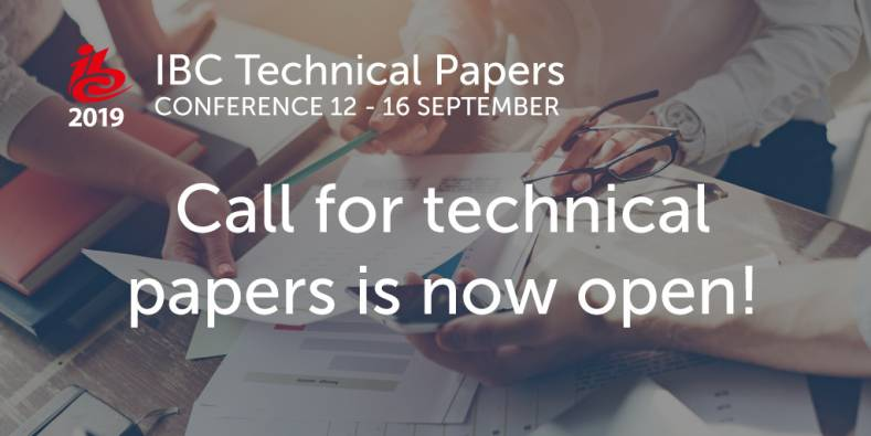 IBC2019 Technical Paper Submissions Now Open